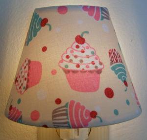 cupcake night light nursery night light